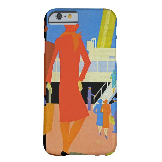 Art Deco Boarding Barely There iPhone 6 Case