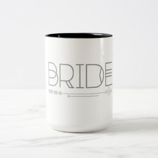 Art Deco Bohemian Bride | Arrow | Mug