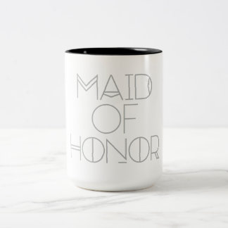 Art Deco Bohemian Bride | Maid of Honor | Mug