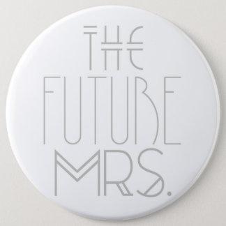 Art Deco Bohemian Bride | The Future Mrs.| Button
