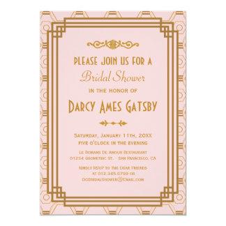 Roaring twenties bridal shower invitations announcements zazzle art deco bridal shower invitations filmwisefo Gallery