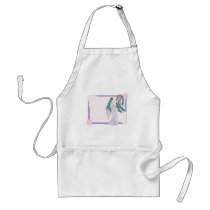 Art Deco Bride Adult Apron
