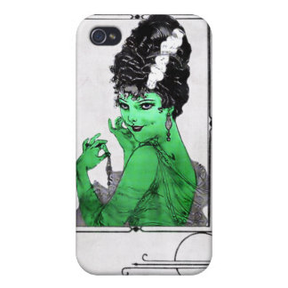 Art Deco Bride  iPhone 4/4S Case