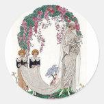 Art Deco Bride Sticker