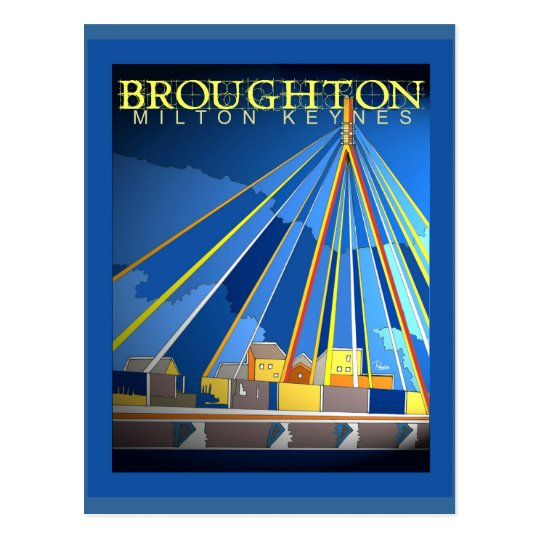 Art Deco Broughton postcard