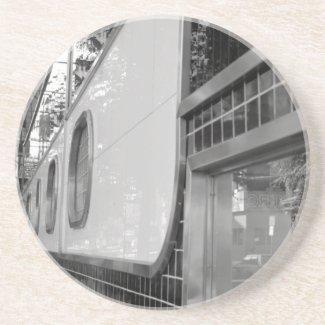 Art Deco Building Exterior Coaster coaster