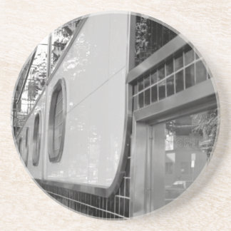 Art Deco Building Exterior Coaster