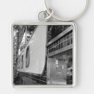Art Deco Building Exterior Keychain