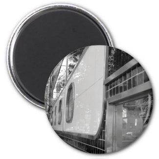 Art Deco Building Exterior Magnet magnet