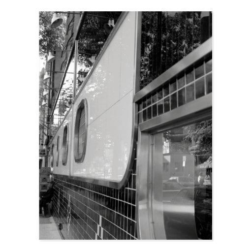Art Deco Building Exterior Postcard