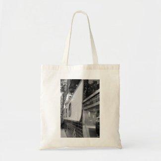 Art Deco Building Exterior Tote Bag bag
