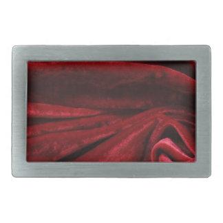 Art deco burgundy velvet fabric chic elegant cafe belt buckle