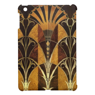 Art Deco Burl Wood Cover For The iPad Mini