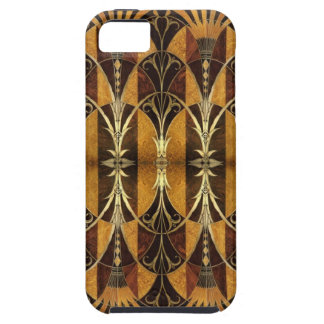 Art Deco Burl Wood iPhone SE/5/5s Case