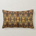Art Deco Burl Wood Pillows