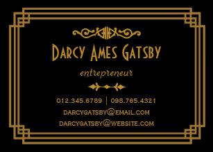 Art deco business cards templates zazzle art deco business cards colourmoves