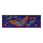 Art Deco Butterfly - Bookmark Business Cards