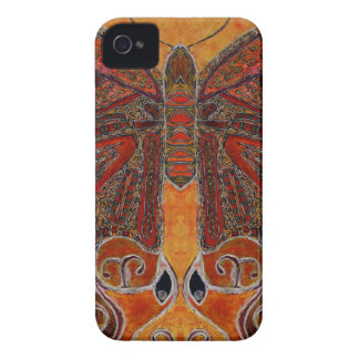 art deco butterfly - iPhone 4 Barely There ID/CC iPhone 4 Cover
