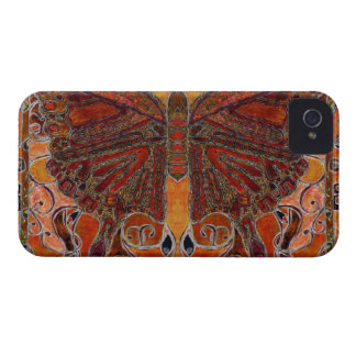 art deco butterfly painting BlackBerry Bold Case