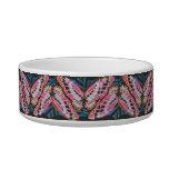 Art Deco Butterfly Pet Bowl