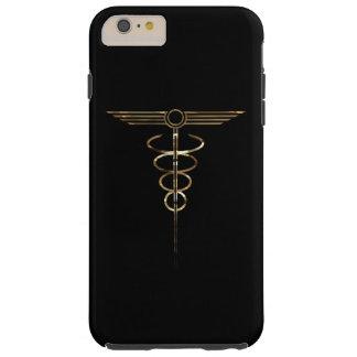 Art Deco Caduceus Tough iPhone 6 Plus Case