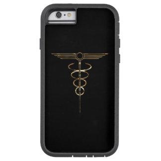 Art Deco Caduceus Tough Xtreme iPhone 6 Case