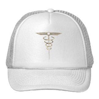 Art Deco Caduceus Trucker Hat