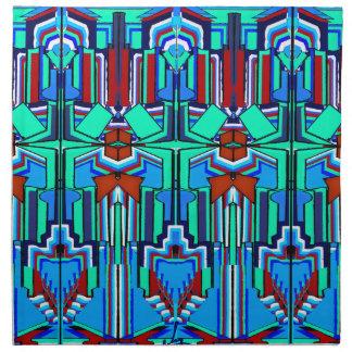 Art Deco CC Napkin