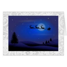 Art Deco Christmas Card at Zazzle