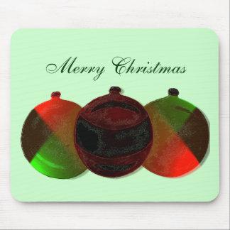 Art Deco Christmas Ornaments Mousemat Mouse Pad