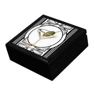 Art Deco Cocktails Jewelry Box