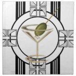 Art Deco Cocktails Napkins (4)