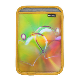 Art Deco Colorful Hearts iPad Mini Vertical Sleeve Sleeve For iPad Mini