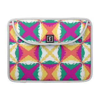 Art Deco Colorful Swirl Retro Abstract Art Sleeves For MacBook Pro