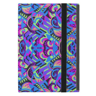 Art déco colorido de Excrutiatingly psicodélico iPad Mini Fundas