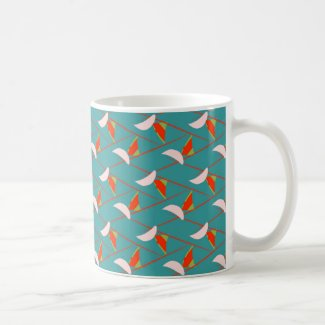 Art Deco Colors on Classic Mug