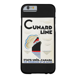 Art Deco Cunard Line Barely There iPhone 6 Case