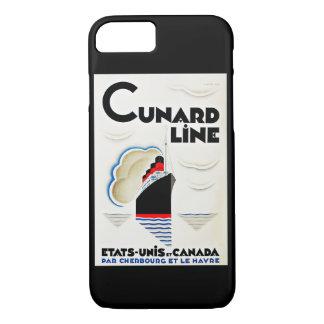 Art Deco Cunard Line iPhone 7 Case