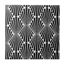 Art Deco Custom Pattern Tile
