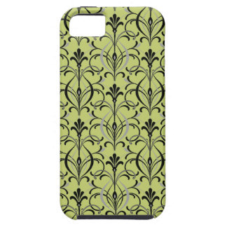 Art Deco Damask iPhone 5 Cases