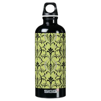 Art Deco Damask Water Bottle
