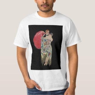 Art Deco Dancing, Vintage Love and Romance T-Shirt