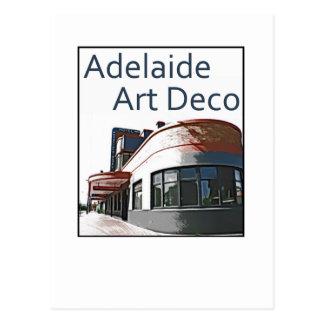 Art déco de Adelaide - hotel de Woodville Tarjetas Postales