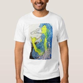Art déco de Alfonso Mucha Camisas