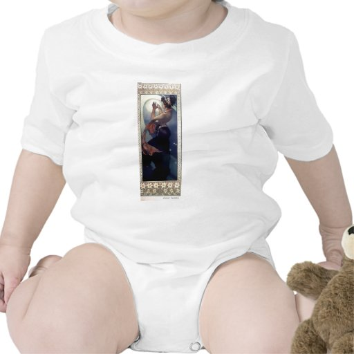 Art déco de la estrella polar de Mucha Camiseta