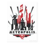 Art déco de la metrópoli postales