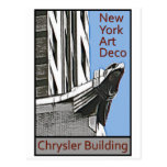 Art déco de Nueva York - Chrysler que construye Ea Postal