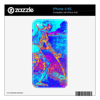 Art Deco Death iphone 4/4S Zazzle Skin Skins For The iPhone 4
