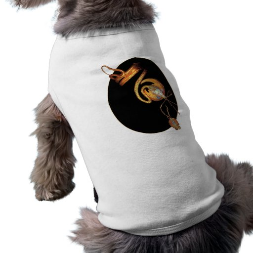 art déco del diseño de la pulsera del brazo de la  camisetas de mascota