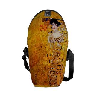 Art déco del retrato de Gustavo Klimt Adela Bloch- Bolsas De Mensajería